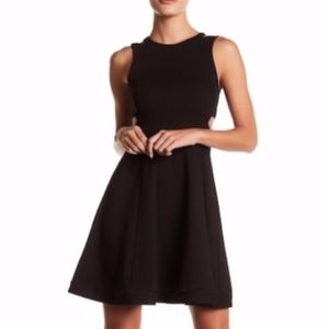French Connection Lula cutout dress